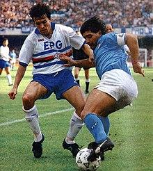 220px-Serie_A_1990-91_-_Napoli_vs_Sampdoria_-_Fausto_Pari,_Diego_Armando_Maradona
